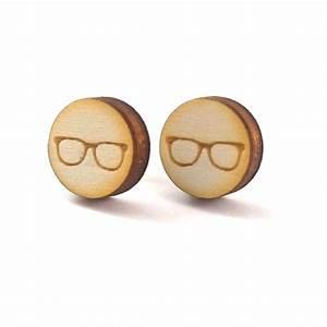 Schuppen Aus Holz : optiker ohrstecker aus holz mit brille geschenke ~ Michelbontemps.com Haus und Dekorationen