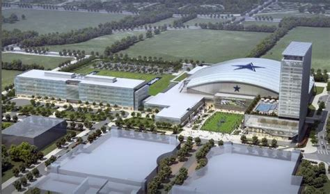 renderings dallas cowboys plans  valley ranch