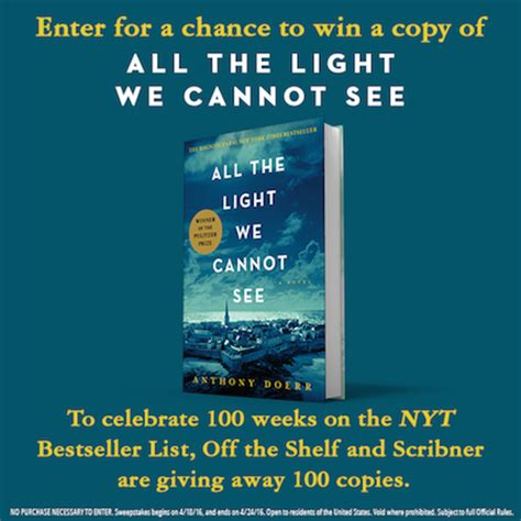 all the light we cannot see book by anthony doerr