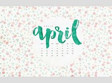 Freebie Hello April To Live Beautifully