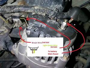 03 Pontiac Sunfire Alternator Wiring Diagram