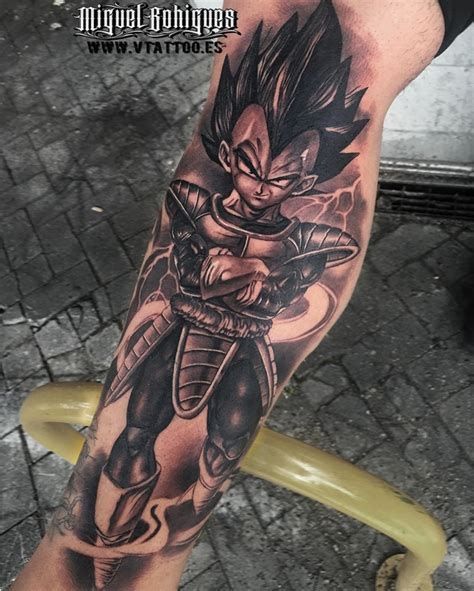 epic dragon ball  tattoos   blow  mind