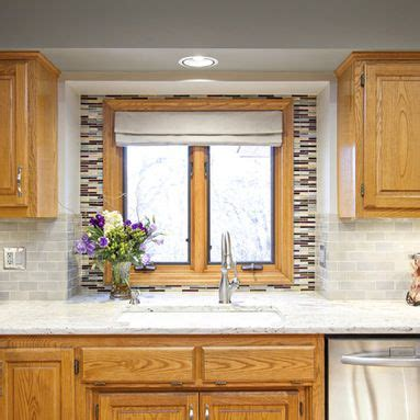 paint colors  kitchens  oak cabinets design ideas pictures remodel  decor oak trim