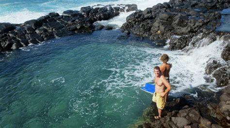 Kauai Hawaii The Queens Bath Where We Be