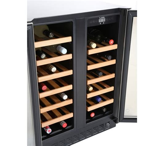 under cabinet wine fridge cda fwc623bl buy this freestanding wine cooler