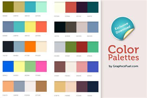 4 color palette excellent color palettes psd graphicsfuel