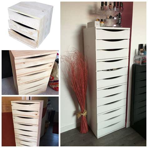 Diy  Créer Un Chiffonnier Meuble à Tiroirs Type Ikea à