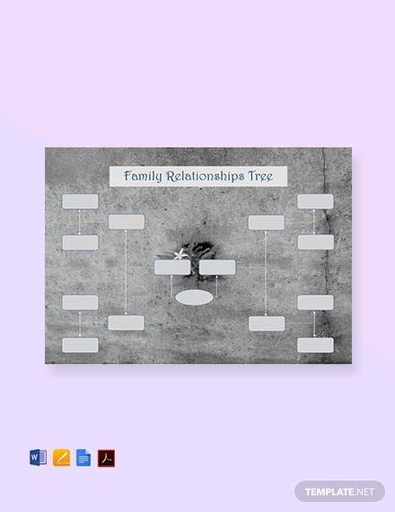 57+ FREE Family Tree Templates - PDF | Word (DOC) | Excel ...