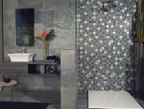plaque de mosaique salle de bain de conception de maison