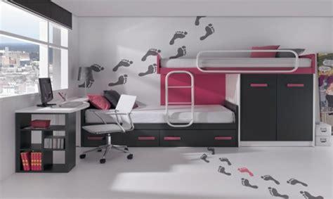 chambre avec lit superposé déco chambre lits superposes