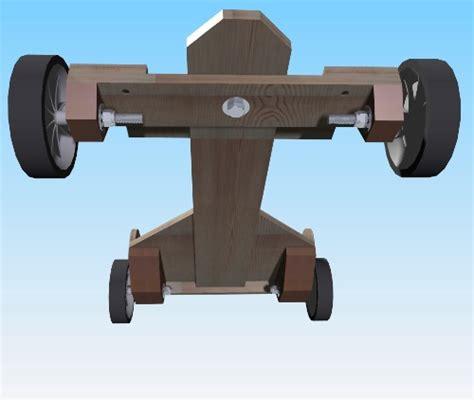 build diy wooden  kart plans  steering wheel plans
