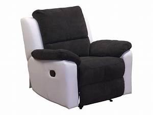 Fauteuil Electrique Conforama : fauteuil relax conforama maison design ~ Teatrodelosmanantiales.com Idées de Décoration