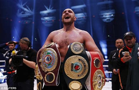 Tyson Fury is now the heavyweight champion of the world ...