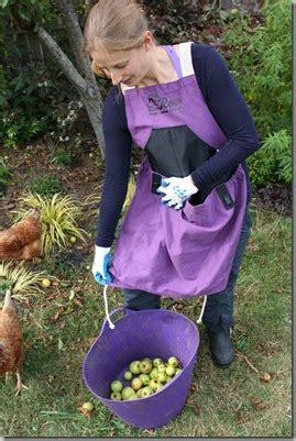 roo weeding  harvesting apron north coast gardening