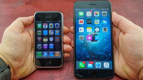 when did the iphone 1 come out iphone 1 vs iphone 7 plus this is how far we ve come in
