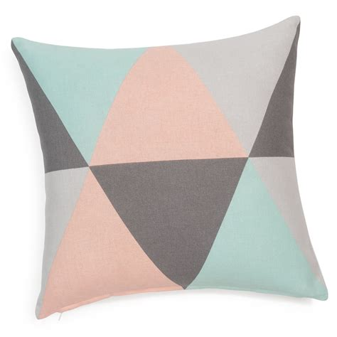 maison du monde coussin de chaise lively cotton cushion cover 40 x 40cm maisons du monde