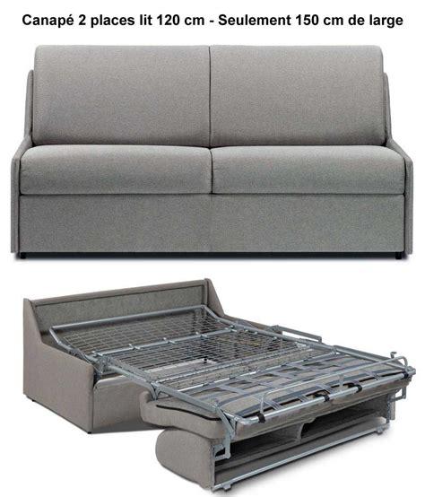 canapé lit tissu canape lit gain de place maison design wiblia com