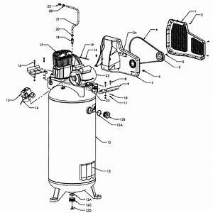 Craftsman Model 92116476 Air Compressor Genuine Parts