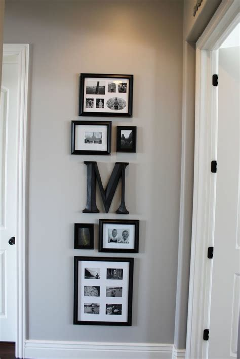 image result for group of small mirrors in hallway home