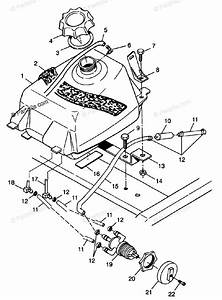 Polaris Atv 1998 Oem Parts Diagram For Fuel Tank Xplorer