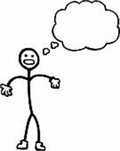 Stick Person With Thought Bubble | www.pixshark.com ...