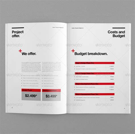 proposal  egotype graphicriver