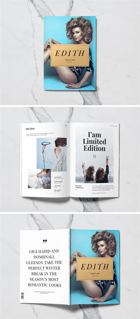 Magazine Mockup 75 Free Psd Magazine Book Cover Brochure Mock Ups