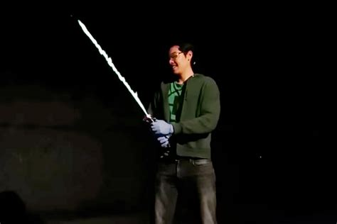 real 39 star wars 39 lightsaber that runs on alcohol witty mix
