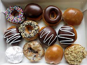 18 Delicious Pictures of Krispy Kreme Doughnuts