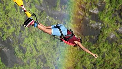 Bungee Jumping Scary Think Twice Jump Some