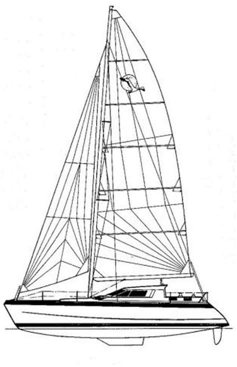 Catamaran Technical Drawing by Yacht For Sale Gt Sailing Boat St Francis 44ft Catamaran