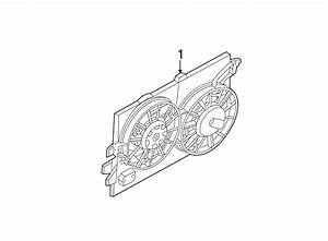Ford Focus Engine Cooling Fan Assembly