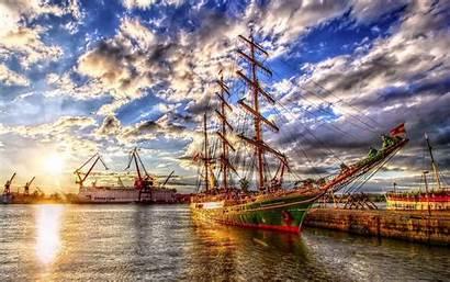 Hdr Glorious Ship Sail Zeilschip Desktop Space