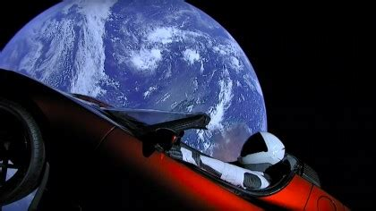 This Website Lets You Track Elon Musk's Tesla Roadster And