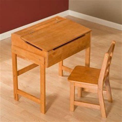 new sale lipper child s pecan wood school desk storage