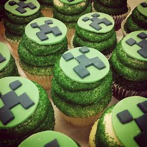 MineCraft Cupcakes | Minecraft Party | Pinterest | Crafts ...