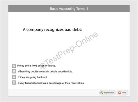 Questions For Accounts Payable Position by Prove It Accounting Test Free Sle Questions Jobtestprep