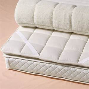 Luxurious natural merino wool mattress bed topper for Al davis furniture and mattress world san diego ca
