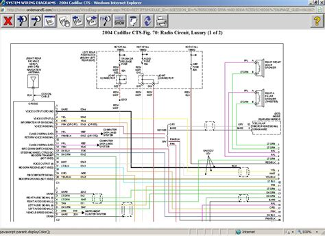 does anyone the harness wiring diagram for 2004 cadillac cts player not the car radio