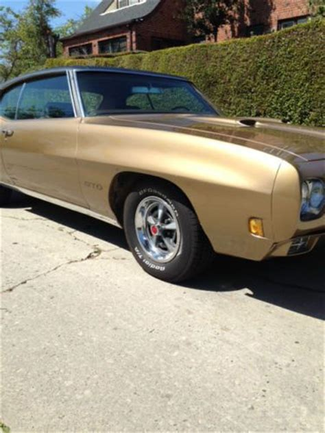 sell   pontiac gto granada gold excellent