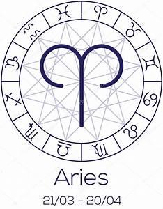 Sternzeichen Widder Symbol : sternzeichen widder astrologisches symbol in rad stockvektor dmitr86 65960987 ~ Orissabook.com Haus und Dekorationen