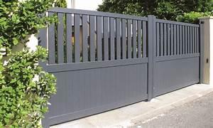 portail alu collection classique gamme zenox contraste With creer maison 3d gratuit 3 portail aluminium classique portail alu gamme zenox