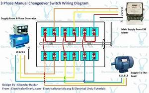 Electrical Wiring   3 Phase Generator Wiring Diagram And Within 2 Way Switch 81 2 Way Switch