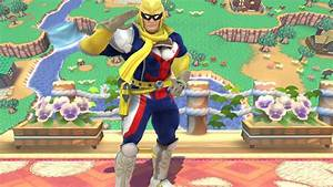 All Might Super Smash Bros For Wii U Skin Mods