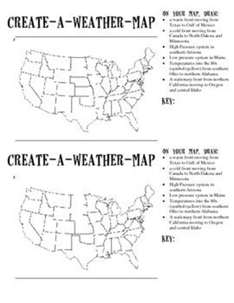 printable weather worksheets for middle school weather