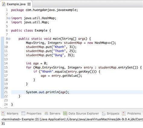 filter mot map su dung stream va lambda expression trong