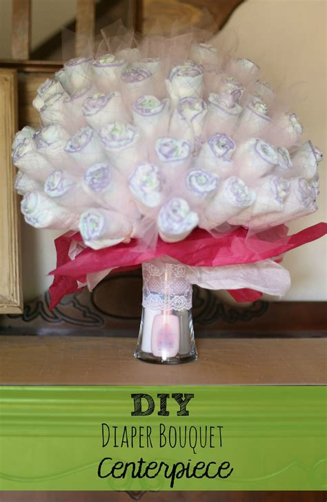 What To Make For Baby Shower Diy Bouquet Centerpiece Baby Shower Gift