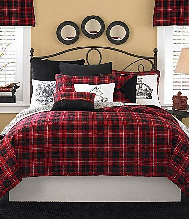 plaid bedroom ideas  pinterest winter bedroom
