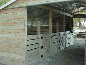 How to build a barn home design garden architecture for Carport horse stalls