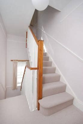 neutral hall stairs landing decorall    grey